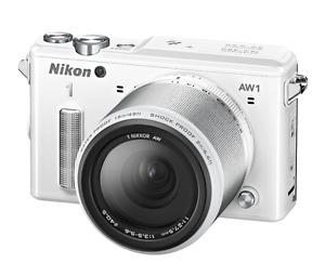 Nikon aw 1 white