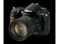 Nikon D200 DSLR Camera with lense £130