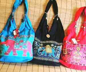 Elephant Embroidery bags(can be shipped to any where in Canada)