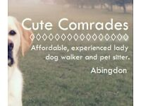 Affordable & experienced pet sitting service
