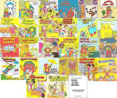 Letter People A-Z Volume 2 PDF Read 2 Me Book SET Collection on CD Disc