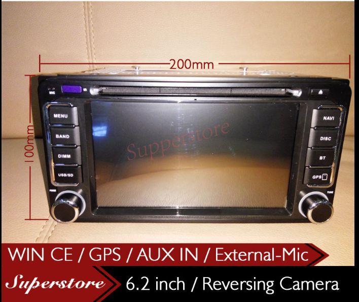 6 2 inch head unit car dvd gps player stereo navi for. Black Bedroom Furniture Sets. Home Design Ideas
