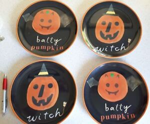 Halloween Plates by Pottery Barn