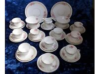 teacups and saucer set