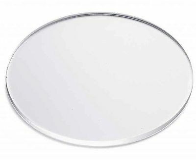 "x 1//16/"" Thick Laser Cut Clear Cell Cast Plexiglass Disks 50 Pcs 1-1//2/"" Dia"