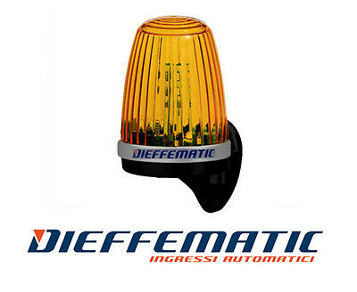 LAMPEGGIANTE LAMPEGGIATORE LED 230V 220V 24V 12V + ANTENNA + SUPPORTO DA PARETE