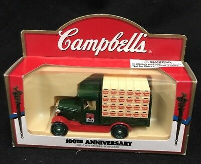 Campbell Soup Company Campbells 100Th Anniversary Die Cast Model  2B