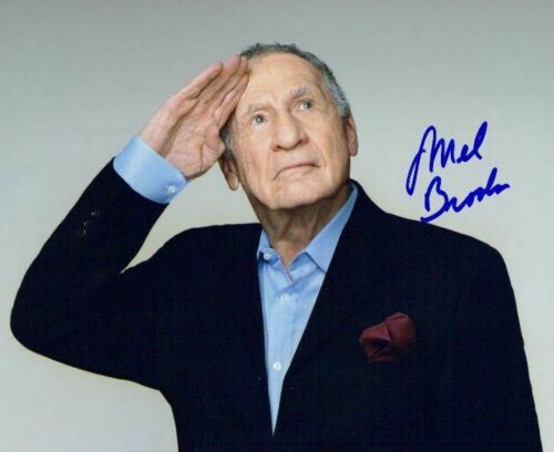 Mel Brooks signed 8x10 photo in-person