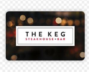 $100 The Keg gift card Kingston Kingston Area image 1