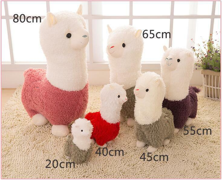 Japan Big Alpacasso Toys Giant Llama Plush Alpaca Amuse Stuffed Soft