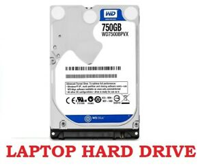 Hard drive laptop: WD Blue 750GB: 45$
