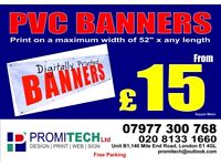 PVC Banner, Poster, Outdoor Print, Vinyl Graphics, Vehicle Graphics, Shop Signs