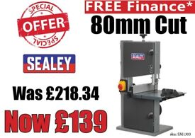 "SEALEY SM1303 PROFESSIONAL BANDSAW 200MM 8"" WOOD PLASTIC TILTING TABLE"