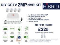 CCTV 2MP KIT - IP POE
