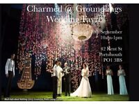 Charmed @ Groundlings Wedding Fayre, unique venue for couples wanting to stand out from the crowd.