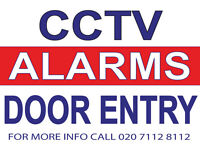 Alarm & Full HD TVI IP CCTV Camera System Installations, Door Entry Access Control Company, Engineer
