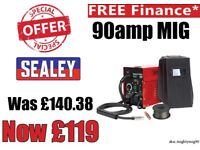 SEALEY MIGHTYMIG90 PROFESSIONAL NO-GAS MIG WELDER 90AMP 230V