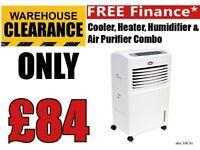 Sealey Tools Humidifier SAC41 Air Cooler Heater Air Purifier Humidifier