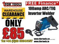 Draper 100amp ARC inverter welder 83402 240v supply