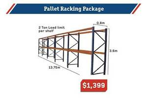 Pallet Racking Package - Dexion - 3.6M x 13.75m  - 10% Special Kewdale Belmont Area Preview