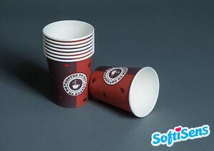 1.000 x 0,2l Coffee to go Becher Kaffeebecher Pappbecher Hartpapierbecher Einweg