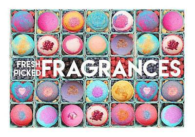 9 pack Bath Bomb Lot Fizzy Fizzies Luxurious Organic Great Gift 4.5 oz Large