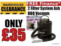 De Vielle Classic Ash Vac - 2 filter system Chimney Cleaner DEFAV007