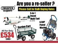 Gardening Bulk Buying Wholesale Rates Resale Pressure Washer Strimmer Multi tool Garden cart