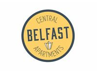 Housekeeper / Room attendant for serviced apartments. Central Belfast Apartments