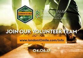 Volunteering for Timothy James & Partners London 10 Mile