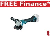 Makita DGA454Z Angle Grinder 18V Cordless Brushless li-ion 115mm Body Only