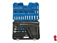 "Draper Expert 16462 1/4"" - 3/8"" - 1/2"" Sq. Metric Tool Kit 214 Piece"