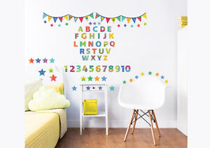 ABC Learn With Me Walltastic Wall Stickers for Kids bedrooms