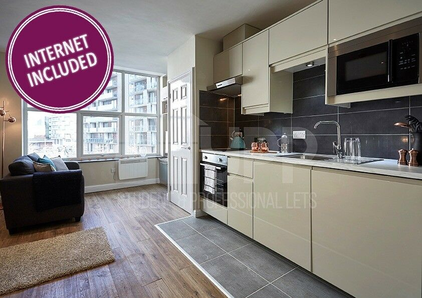 Studio Apartment to Rent in Manchester City Centre: Flat 3 ...