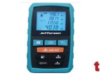 JEFFERSON 60M LASER DISTANCE MEASURE METER JEFLDM600