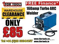 Draper 160amp Turbo ARC welder 5571 230v for ARC welder between 40 - 160amp