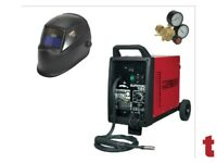 SEALEY SUPERMIG150 PRO MIG WELDER 150A 230V + AUTO-DARKENING HELMET