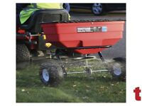 SEALEY SPB80T BROADCAST SPREADER 80KG TOW BEHIND GRIT SEED SALT DE ICER HITCH DESIGN