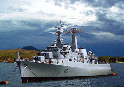 HMS KENT - HAND FINISHED, LIMITED EDITION (25)
