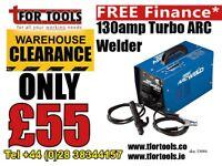 Draper Turbo ARC welder 130amp 53084 230v