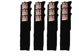 240 Pair New Ladies Womens Welly Wellie Festival Long Knee High Cotton Socks Wholesale Clearance Lot