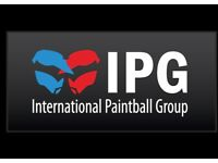 Paintballing for 10 people + 1000 free paintballs