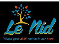 Nursery Room Leader and Nursery Assistant vacancy at Le Nid, East Dulwich Grove SE22, London