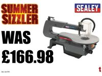SEALEY SM1302 VARIABLE SPEED SCROLL SAW 406MM THROAT 230V