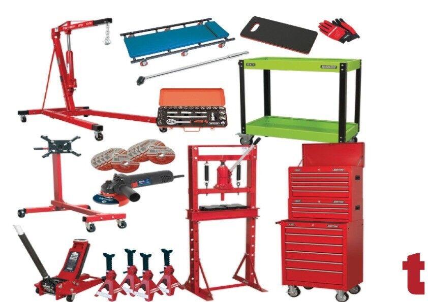 Mechanics Ultimate 53 Piece Garage Kit