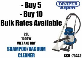 Bulk Buying / Job Lots / Wholesale rates Vacuums, valeting machines, wet and dry carpet cleaners