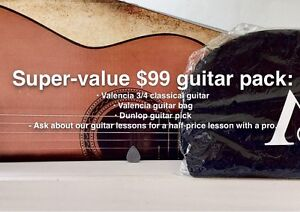 On Sale!- Valencia Guitar Pack Ballina Ballina Area Preview