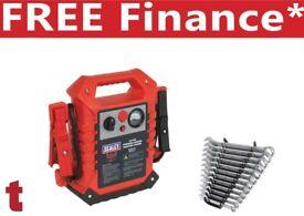 Sealey RoadStart® Emergency Booster Power Pack 12/24V + 12pc Spanner Set