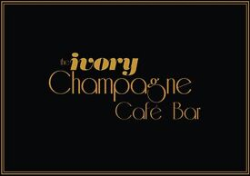 The Ivory Champagne Cafe Bar requires waiting staff