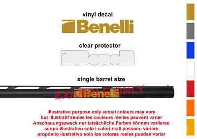 Benelli Vinyl Decal Sticker For Shotgun / Barrel / Gun Safe / Car / Bike 1-2